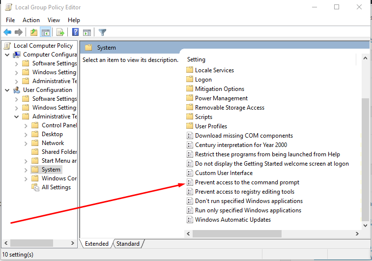 How To Disable CMD in Windows 10, 8, 7