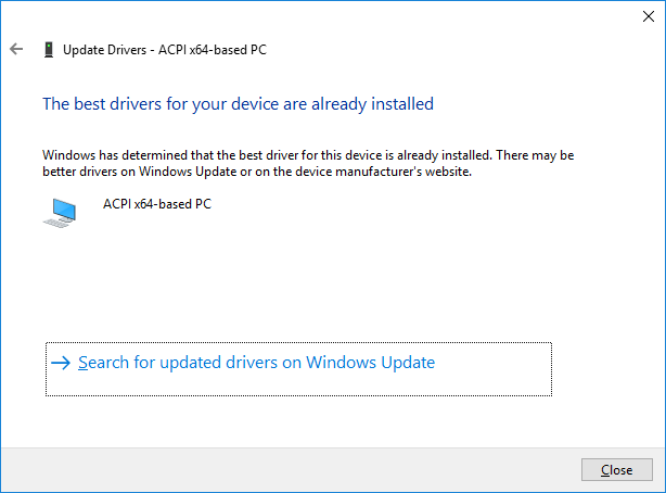 How to Check Drivers Updates w/o Programs in Windows 10