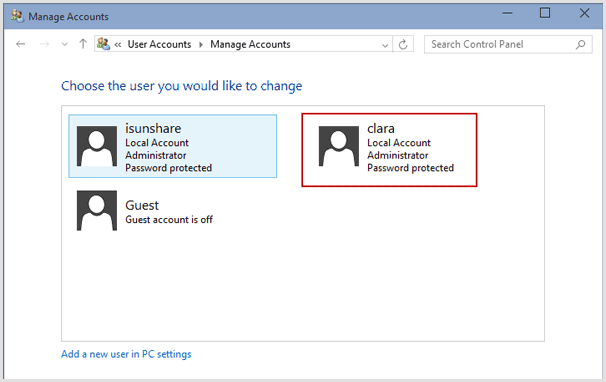 How To View All User Accounts in Windows 10, 8 or 7