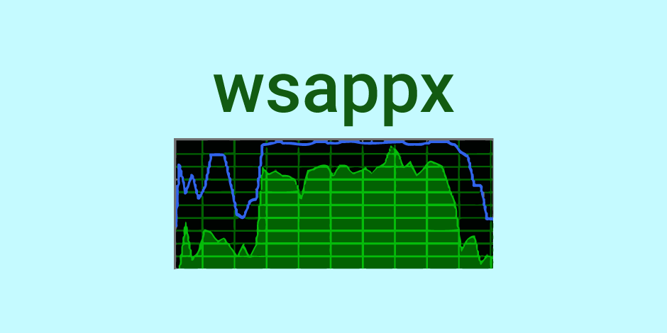 wsappx windows 10 home