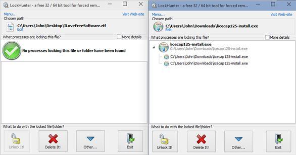windows 10 downloaded files locked