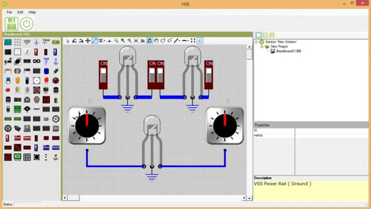 7 Best Arduino Pc Simulators For Windows Proteus Circuit Simulation Software Free Virtual Breadboard Is A Vbb Learning App Type Version Designed To Be Useful Support In Thanks The Microcontroller
