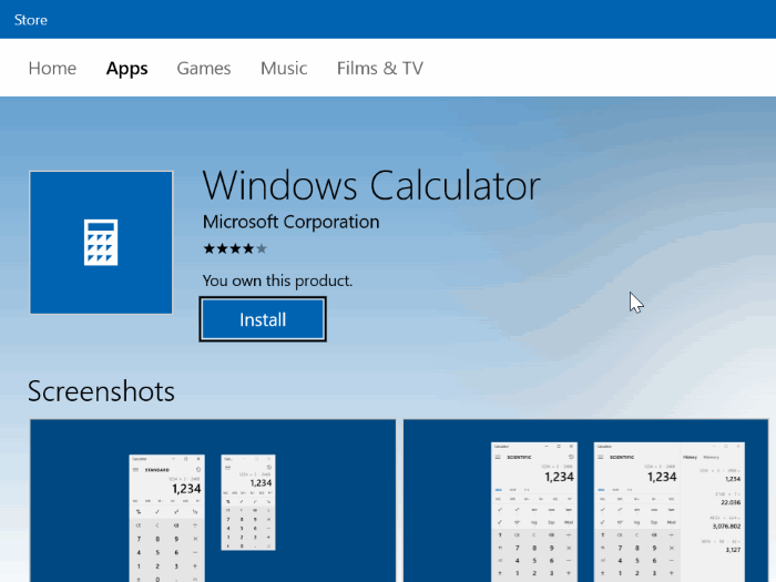 Fix Not Working Calculator in Windows 10