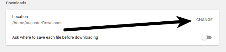 How To Change Chrome Default
