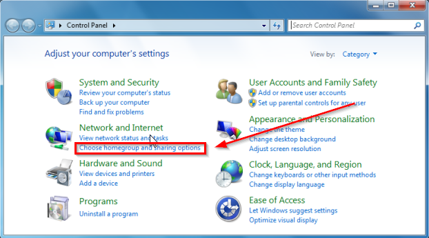 create homegroup windows 7 and 8