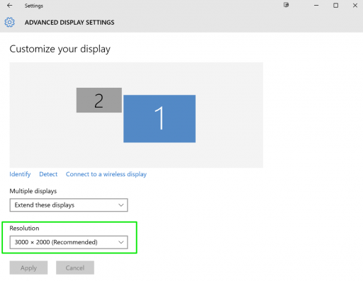 How to Setup Multiple Monitors & Change Resolution on Windows 10