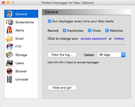 refog keylogger registration key mac