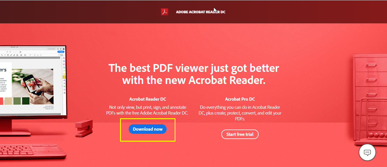 Adobe Acrobat Reader DC Offline Installer [Direct Download