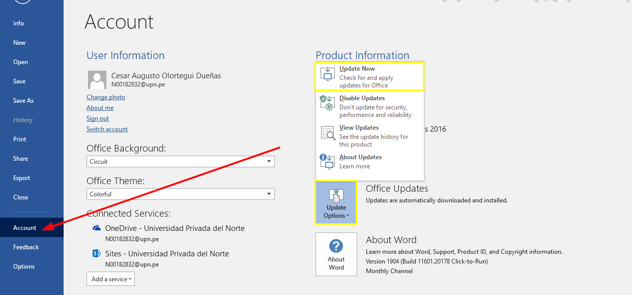 How to Update Office 2010, 2013 & 2016 on Windows & Mac