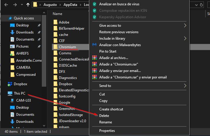 SOLVED] Malware Chromium Won't Uninstall – WindowsHelper